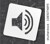 icon idea play rock set | Shutterstock .eps vector #1085074895
