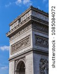 architectural fragment of arc... | Shutterstock . vector #1085084072