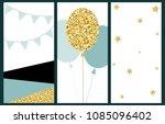 celebration cards background....   Shutterstock . vector #1085096402