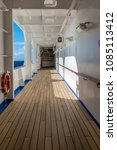 Small photo of Cruise ship deck