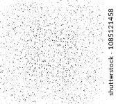 abstract pattern of random dots ... | Shutterstock .eps vector #1085121458