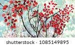 collection of designer oil... | Shutterstock . vector #1085149895