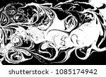 black and white liquid texture. ...   Shutterstock .eps vector #1085174942