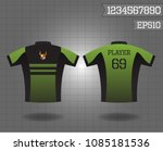 cycle jersey design for cyclist ...   Shutterstock .eps vector #1085181536