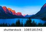 beautiful sunrise at wild goose ... | Shutterstock . vector #1085181542