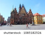 wroclaw  poland   april 29 ... | Shutterstock . vector #1085182526