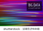 abstract vector finance  big... | Shutterstock .eps vector #1085194448