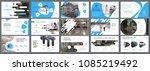 blue  white and black... | Shutterstock .eps vector #1085219492