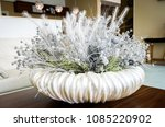 Floral White Table Decoration...