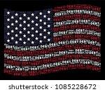 debt word items are arranged... | Shutterstock . vector #1085228672