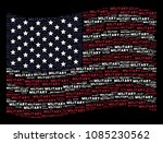 military text items are grouped ... | Shutterstock .eps vector #1085230562