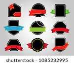vector set of banners. | Shutterstock .eps vector #1085232995