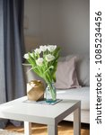 interior. room. a bouquet of... | Shutterstock . vector #1085234456