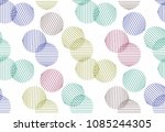 the crossed pattern of colored... | Shutterstock .eps vector #1085244305