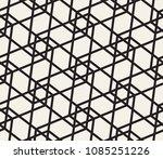 oriental linear geometric... | Shutterstock .eps vector #1085251226