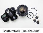 modern photography equipment... | Shutterstock . vector #1085262005