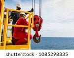 crane inspector  crane... | Shutterstock . vector #1085298335