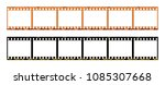 film strip template with frames ... | Shutterstock . vector #1085307668