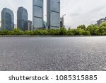 empty road with modern business ... | Shutterstock . vector #1085315885
