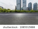 empty road with modern business ... | Shutterstock . vector #1085315888
