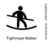 tightrope walker icon isolated...   Shutterstock .eps vector #1085350892