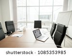 modern office boardroom... | Shutterstock . vector #1085353985