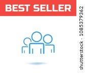 community member concept.... | Shutterstock .eps vector #1085379362