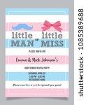 little man or little miss ...   Shutterstock .eps vector #1085389688