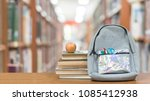 back to school concept with...   Shutterstock . vector #1085412938