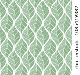 geometric leaves vector... | Shutterstock .eps vector #1085419382