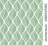 geometric leaves vector... | Shutterstock .eps vector #1085419382