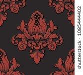 vector volumetric damask... | Shutterstock .eps vector #1085444402