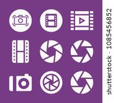 filled photography icon set... | Shutterstock .eps vector #1085456852