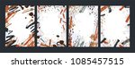 collection of vertical... | Shutterstock .eps vector #1085457515