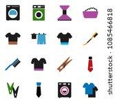 solid vector icon set  ... | Shutterstock .eps vector #1085466818
