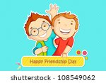 vector illustration of boys... | Shutterstock .eps vector #108549062