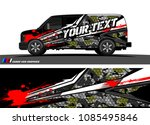 car livery graphic vector.... | Shutterstock .eps vector #1085495846