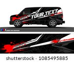 car livery graphic vector.... | Shutterstock .eps vector #1085495885