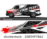 car livery vector. abstract...   Shutterstock .eps vector #1085497862