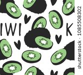 hand drawn seamless pattern... | Shutterstock .eps vector #1085508302