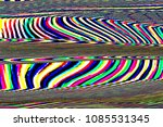 Glitch Universe Background. Ol...