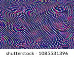 glitch universe background. old ... | Shutterstock . vector #1085531396
