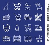 outline transport icon set such ... | Shutterstock .eps vector #1085545622