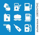 filled fuel icon set such as... | Shutterstock .eps vector #1085547542
