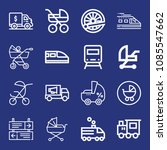 outline transport icon set such ... | Shutterstock .eps vector #1085547662