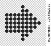 arrow icon. vector illustration ... | Shutterstock .eps vector #1085562392