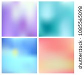 abstract vector multicolored... | Shutterstock .eps vector #1085565098