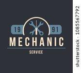 auto mechanic service. mechanic ... | Shutterstock .eps vector #1085567792