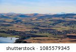 View West From The Lomond Hills ...