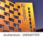 radisson red hotel  the first...   Shutterstock . vector #1085607455